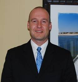 Director of Real Estate Sales Eric Johnson